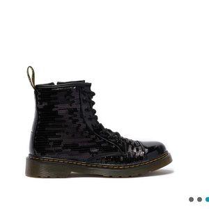 NEW • Dr. Martens • 1460 Combat Boots Sequin 7